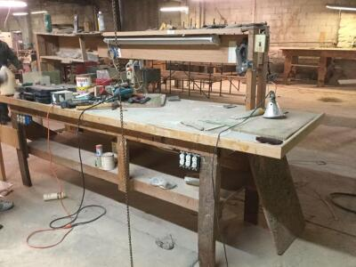 Workbench . No contents