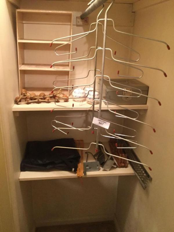 Closet organizers in master bedroom closet - Current price: $2