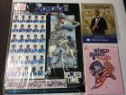 1980 World Series program, 1999 yearbook, royals poster. 17*22 Foam board
