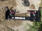 Quick hitch for skid steer