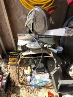Black and Decker miter saw and stand