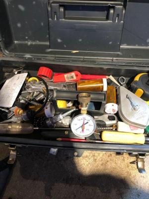 Tool box and contents