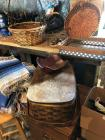 Baskets and blankets