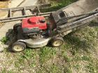 Honda HR194 self propelled mower. Runs good