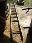 Aluminum ladder and buckets