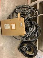 Wheelchair wheels and rubber