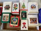 Hallmark collectible Christmas ornaments