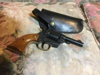 High Standard W102 .22 revolver and holster