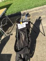 Knight bag and clubs