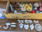 Vintage cookie cutters and more