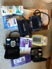Miscellaneous medical supplies, blood pressure cuffs
