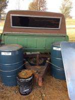 Truck bed trailer And contents