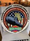Boulevard Beer metal sign