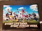 "DirecTV ""Every Live Game. Every Sunday Here."" Banner & DirecTV ""Catch Every Live Game. Every Sunday Here."" Banner"