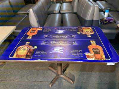 Crown Royal Restaurant table,