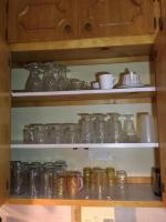 Contents of two cabinets