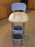 Three step kitchen stool