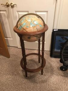 "Globe in stand 14""x36"" Crams"