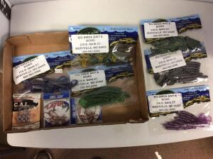 Misc. Rubber fishing baits