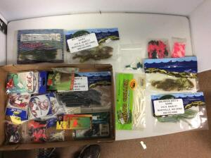 Misc. Rubber Fishing Baits & fishing tackle