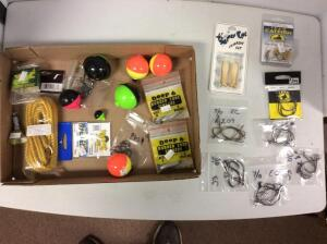 Misc. Bobbers, Hooks, & other fishing items