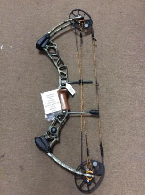 "New - Mission Blaze by Mathews 28"" Draw Length 70lb draw weight Compound bow"
