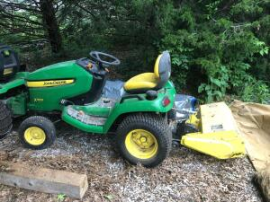 "John Deere X500 with 30"" tiller. 19.4 hours!! No Mower Deck."
