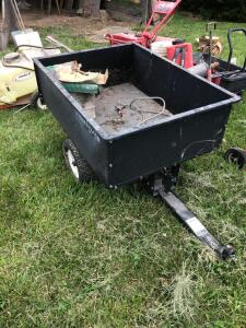Craftsman 10 cu ft lawn trailer