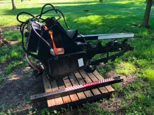Three point Trencher. Never used.