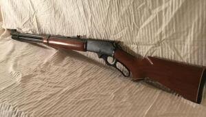 Marlin 3030 caliber lever action rifle