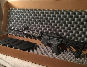 Palmetto State armory model PA-15 7.62x39 With mags
