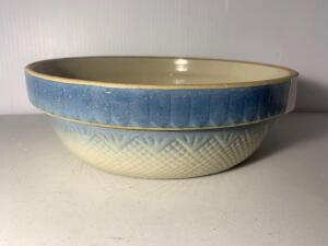 Blue & White Stoneware Bowl