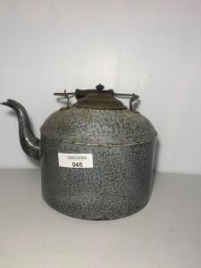 Granite ware Speckled Tea Kettle