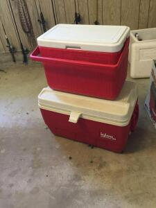 Two nice coolers.