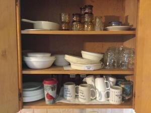 Corelle white plates and more
