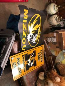 Mizzou signs and more