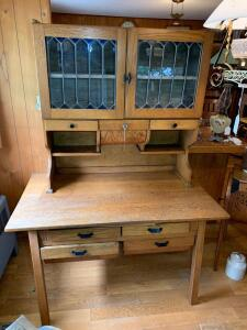 Antique Sellers Kitchen Cabinet