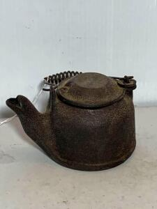 Wagner Ware Cast Iron Small Tea Kettle