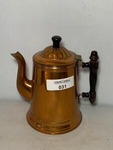 Rome Metal Ware No. 4 Copper Coffee Pot