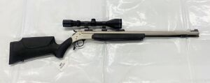 Connecticut Valley Arms Optima 45 cal Black Powder Rifle w/Tasco 3-9x50 scope
