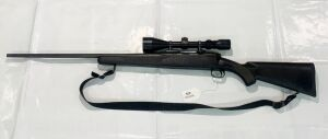 Savage 111 7mm MAG Bolt Action Rifle w/Pine Ridge 3-9x50 Scope, Left Handed
