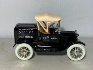 Snap-on 1920 Ford Runabout Bank, 75 years, Die Cast Metal