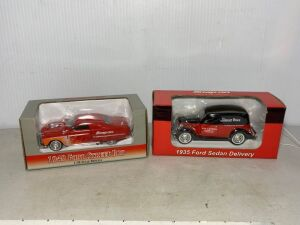 Snap-on 1935 Ford Sedan Delivery and 1949 Ford Street Rod, 1:38 scale