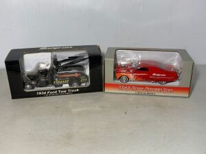 Snap-on 1934 Ford Tow Truck and 1949 Ford Street Rod, 1:38 scale