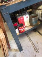 Work bench with contents - 3