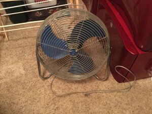 High velocity fan... tested