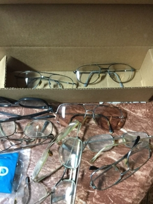 Box of glasses