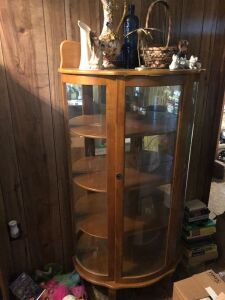 Display cabinet no contents