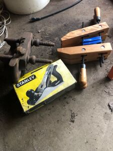 Stanley plane and clamps