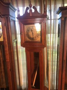 Grandfather clock. 72 inches tall.